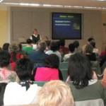 Dr. Christine Wagner referiert zum Thema Demenz (Foto: VBAD e.V.)