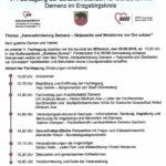Einladung: 29.08.2018 in Schneeberg - V. Fachtung der Lokalen Allianzen für Menschen mit Demenz im Erzgebirgskreis